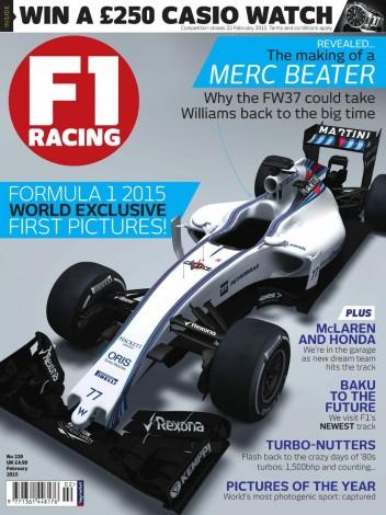 Первые фото Уильямс FW37 сезона 2015 года