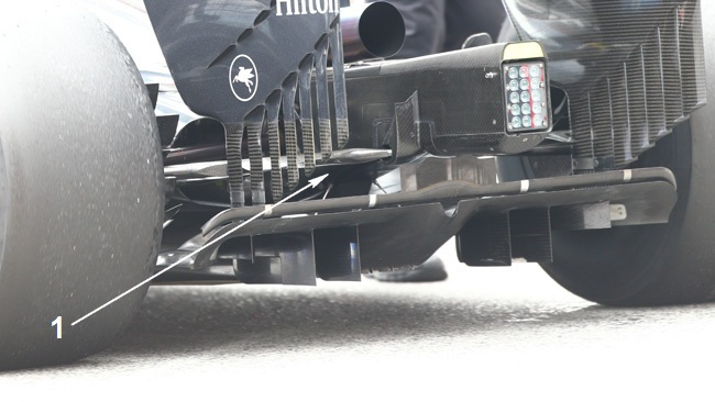 Макларен MP4-30, Нижний рычаг задней подвески