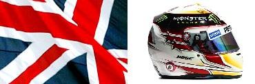 Шлем, флаг Льюиса Хэмилтона
