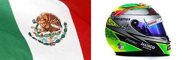 Серхео Перес,флаг,шлем