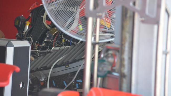 Феррари SF15T, Отличная гидродинамика внутри боковых понтонов, Малайзия