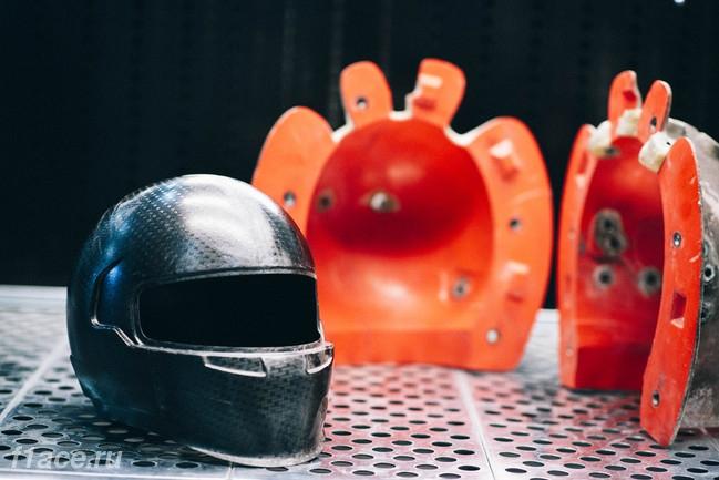 Как создают шлемы для Формулы 1