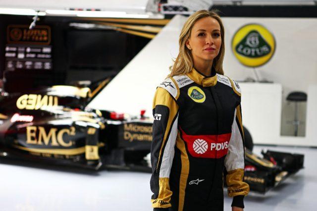 Кармен Джорда, мечты о Формуле 1