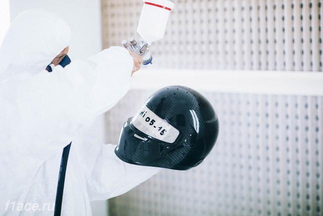 Покарска шлема пилота Формулы 1