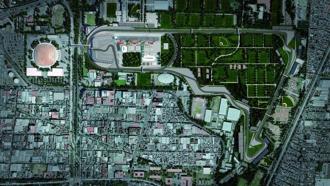 Схема автодрома Братьев Родригес