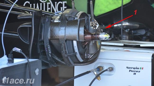 Обновления болида VJM08 Форс Индия в Монако