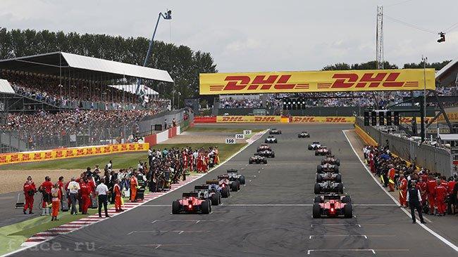 Календарь Формулы 1 на 2016 год.