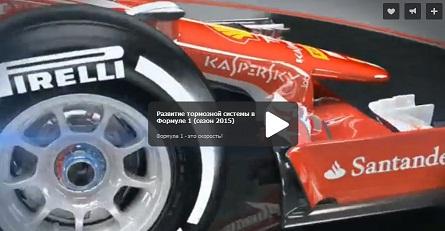 Развитие тормозной системы в Формуле 1 (сезон 2015)