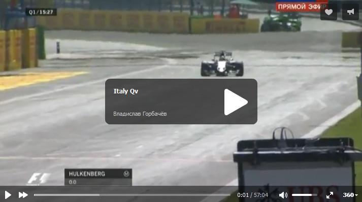 Смотреть квалификацию гран-при Италии 2015