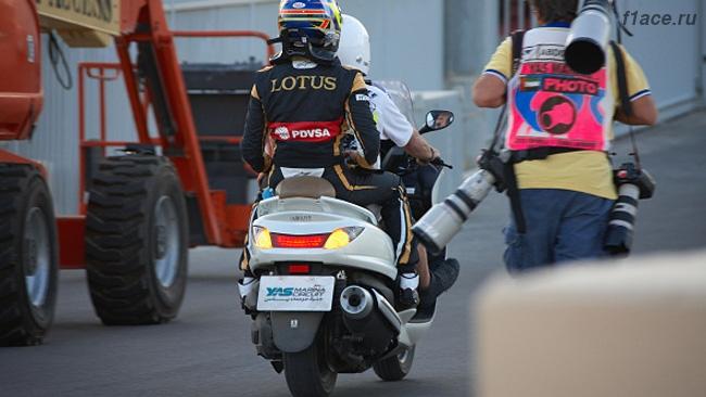 Пастор Мальдонадо уходит из Формулы 1.