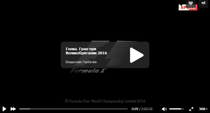 Смотреть гонку на гран-при Великобритании 2016