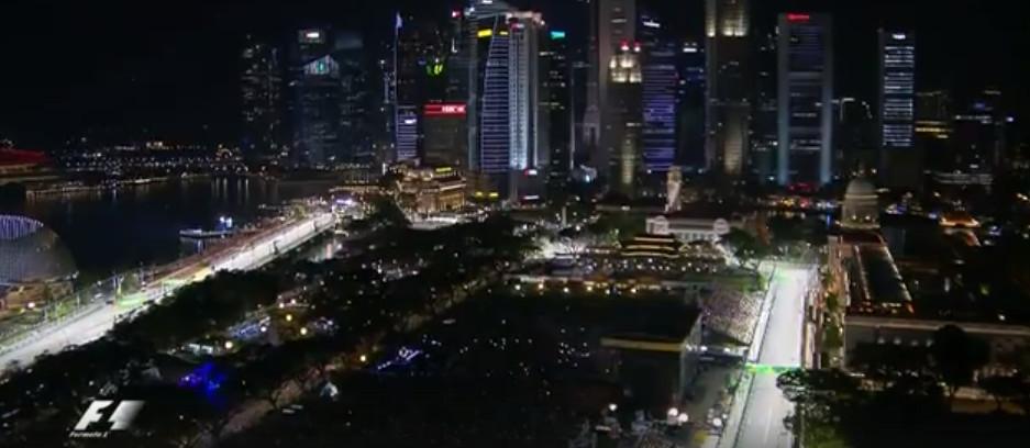 Смотреть запись квалификации гран-при Сингапура 2016