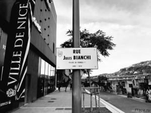 Улица имени Жюля Бьянки в Ницце