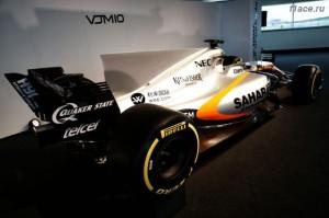 Форс Индия представила болид VJM10.Вид сзади.